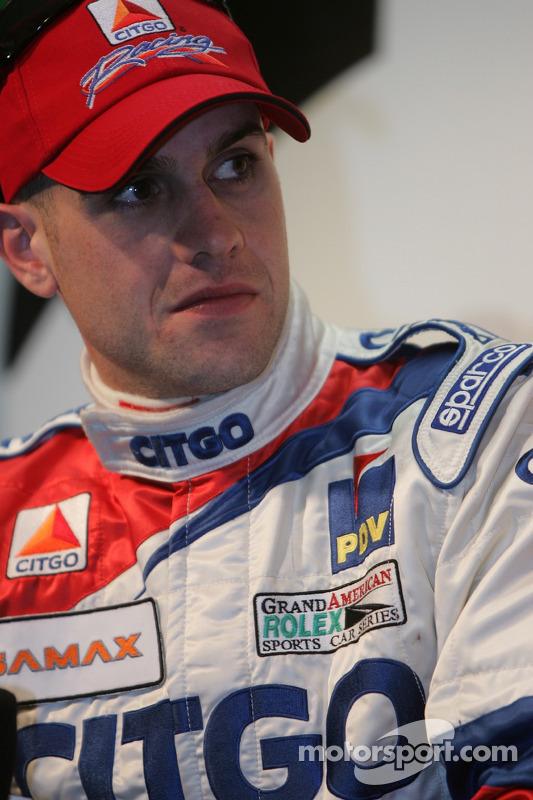 Conférence de presse de l'équipe CITGO Racing: Marino Franchitti