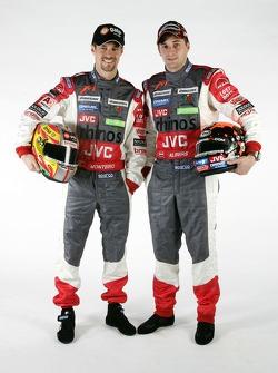 Tiago Monteiro and Christijan Albers