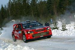 Daniel Carlsson et Mattias Andersson