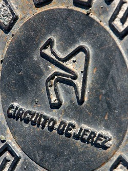A drain cover at Jerez