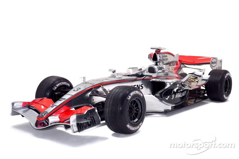 2006: McLaren MP4-21 Mercedes (девять подиумов, 3-е место в КК)