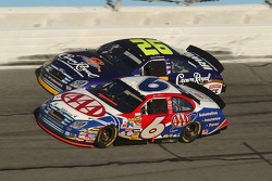 Close call for Mark Martin and Jamie McMurray