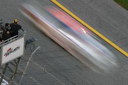 Car at speed