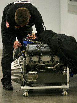 Hendrick Chevy powerplant