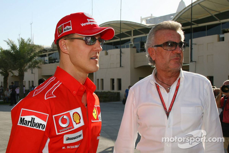 Michael Schumacher i Willi Weber