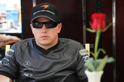 McLaren media breakfast at the Ritz Hotel: Kimi Raikkonen