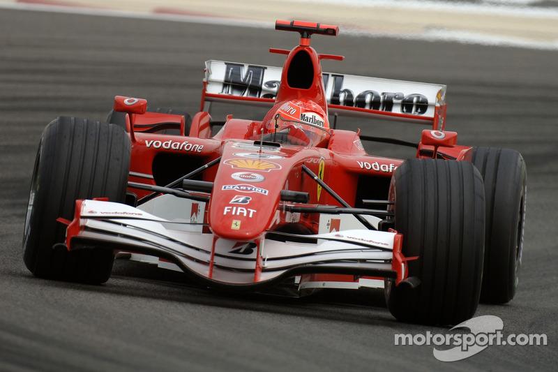michael schumacher - grand prix de bahre u00efn
