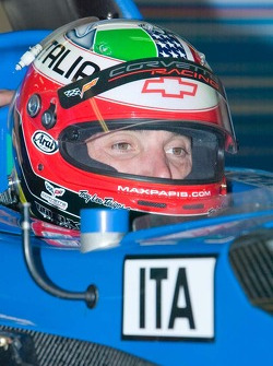 Max Papis drives for Team Italy