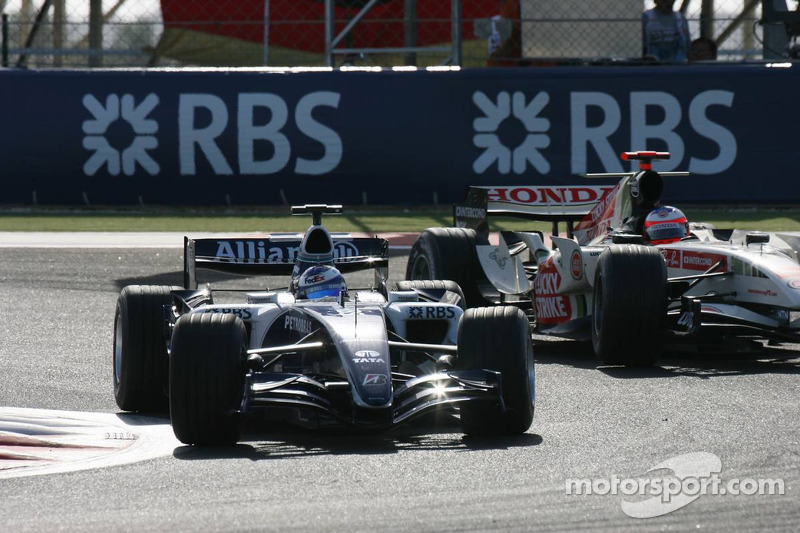 Nico Rosberg, Williams-Cosworth