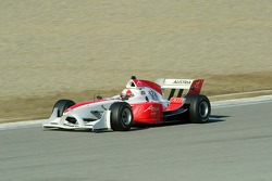 Team Austria driver Mathias Lauda