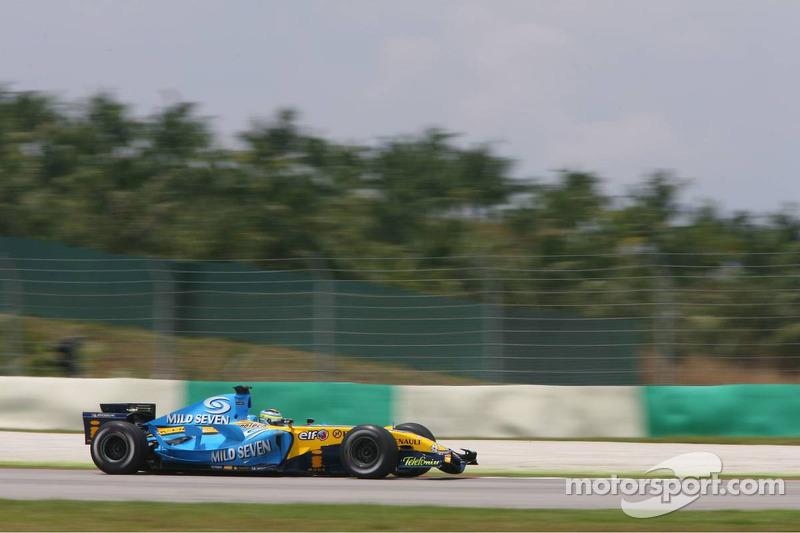 2006 : Giancarlo Fisichella, Renault R26