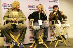 Les acteurs Jon Heder, David Spade et Rob Schneider font la promotion de leur nouveau film