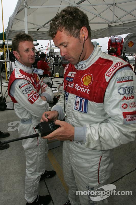 Allan McNish et Tom Kristensen
