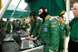 Aston Martin Racing mission control