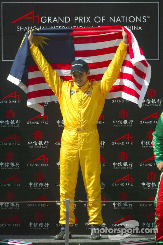 Le vainqueur Alex Yoong (Malaisie)