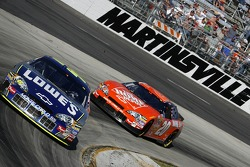 Jimmie Johnson leads Tony Stewart