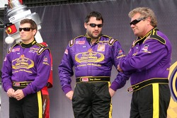 Scott Sharp, Tony Stewart et Steve Kinser
