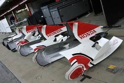 Honda F1 pit area