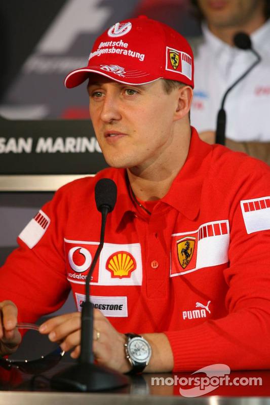 FIA press conference: Michael Schumacher