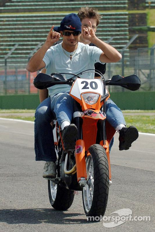 Vitantonio Liuzzi avec sa KTM