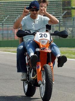Vitantonio Liuzzi with his KTM