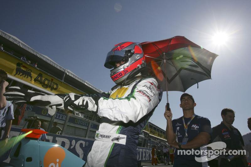 Nelson A. Piquet sur la grille