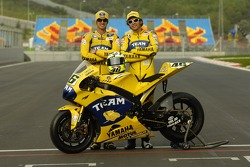 Photoshoot: Colin Edwards and Valentino Rossi