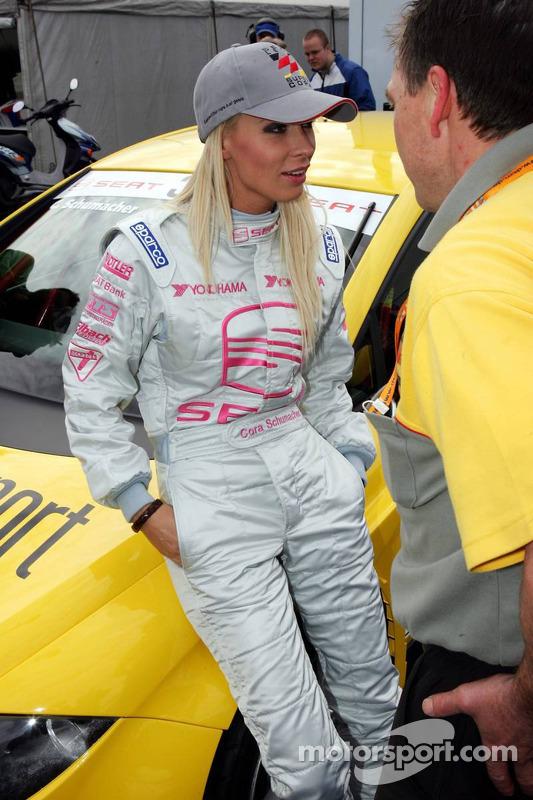 Seat Leon Supercopa: Cora Schumacher