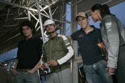 Vitantonio Liuzzi and Christian Klien