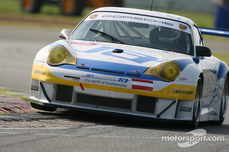 #99 Race Alliance Porsche 996 GT3 RSR: Lukas Lichtner-Hoyer, Thomas Gruber