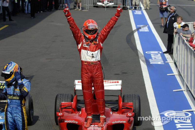 2006. Нюрбургрінг. Переможець: Міхаель Шумахер, Ferrari