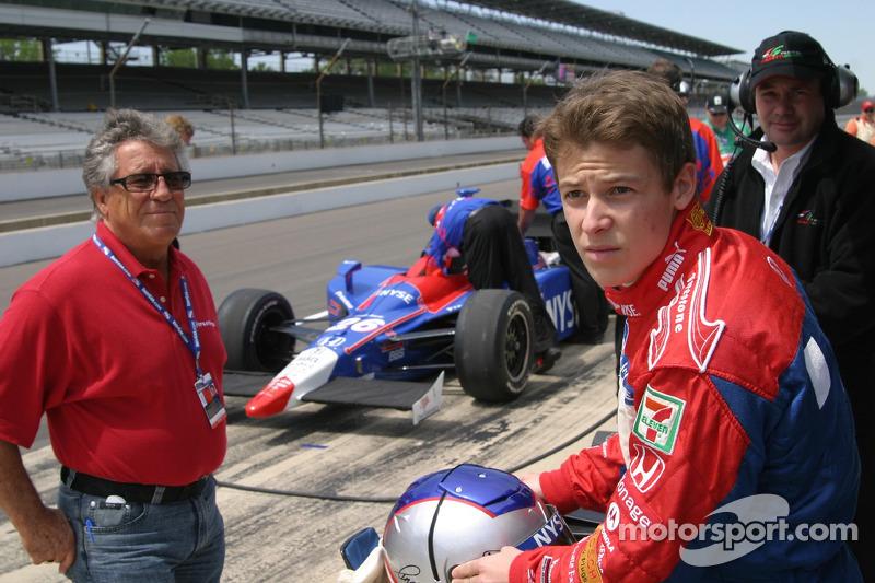 Mario Andretti et Marco Andretti