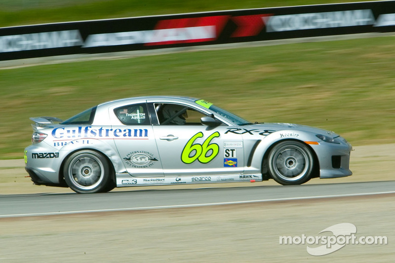#66 SpeedSource Mazda RX-8: Marcelo Abello, Jep Thornton, Jeff Altenburg