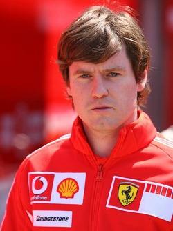 Rob Smedily, Felipe Massa's Ferrari engineer