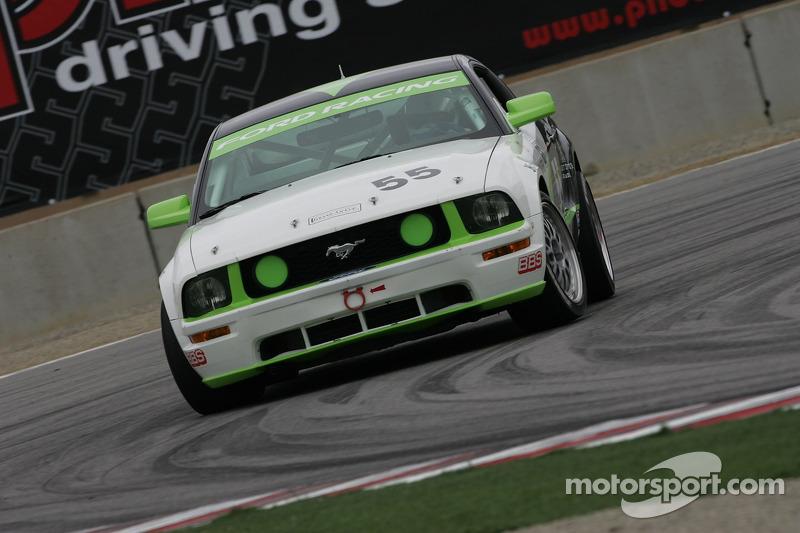 #55 Hyper Sport Mustang GT: Charles Putman, Joe Foster