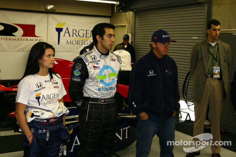 Danica Patrick, Jeff Simmons et Buddy Rice