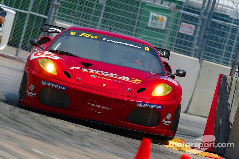 #62 Risi Competizione Ferrari 430 GT Berlinetta: Mika Salo, Jaime Melo, Anthony Lazzaro