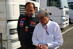 Colin Kolles and Bernie Ecclestone