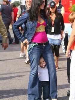 Connie Montoya with her son Sebastian
