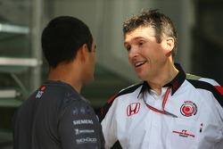 Nick Fry and Juan Pablo Montoya