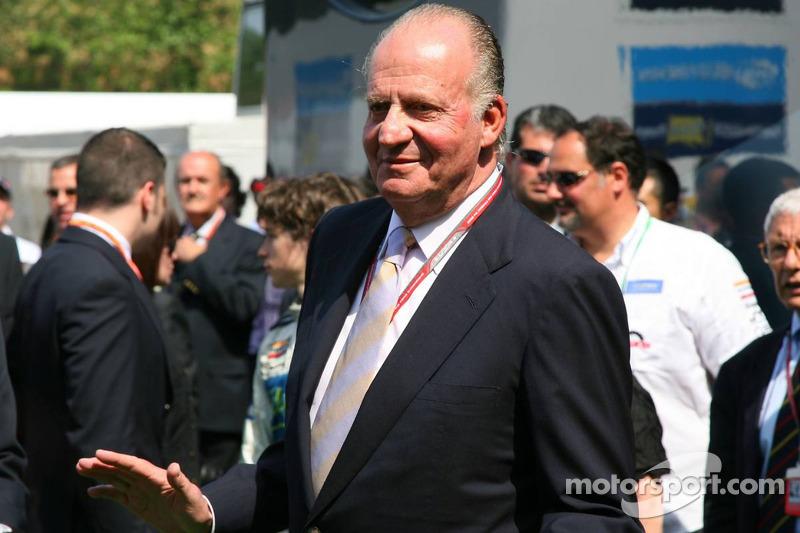 Le roi d'Espagne Juan Carlos I