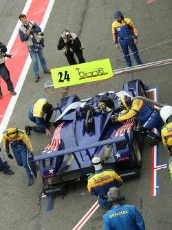 #24 Binnie Motorsports Lola 05/42: Bill Binnie, Allen Timpany, Sam Hancock