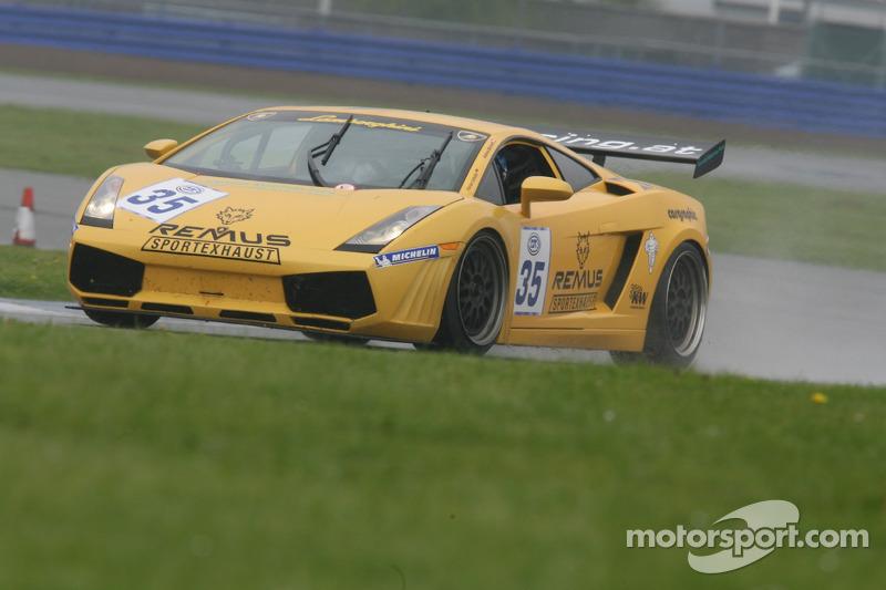 #35 S-Berg Racing Lamborghini Gallardo GT3: Florian Scholze, Andreas Mairzedt