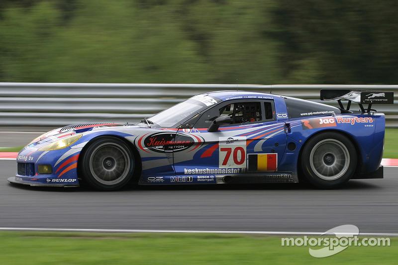 #70 PSI Experience Corvette C6-R: Pertti Kuismanen, Jos Menten, Markus Palttala