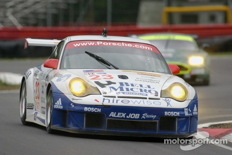 #23 Alex Job Racing Porsche 911 GT3 RSR: Mike Rockenfeller, Klaus Graf