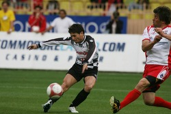 Charity football match: Giancarlo Fisichella