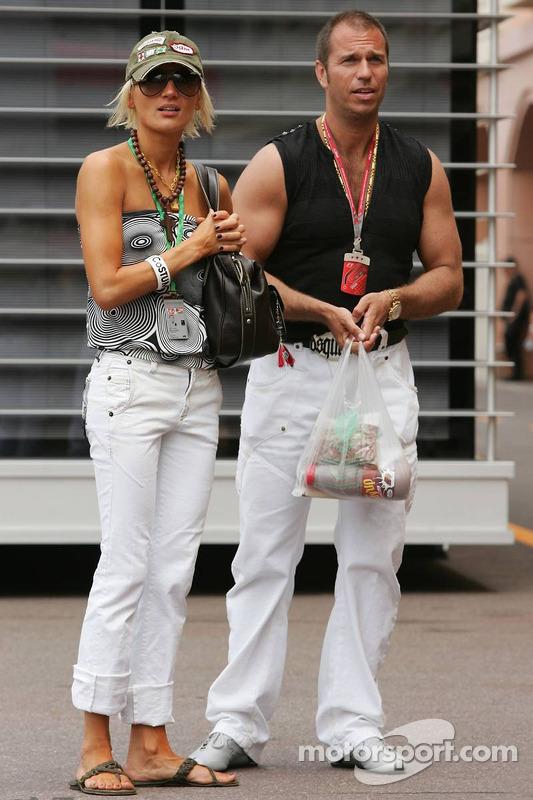 Kai Ebel et sa petite amie