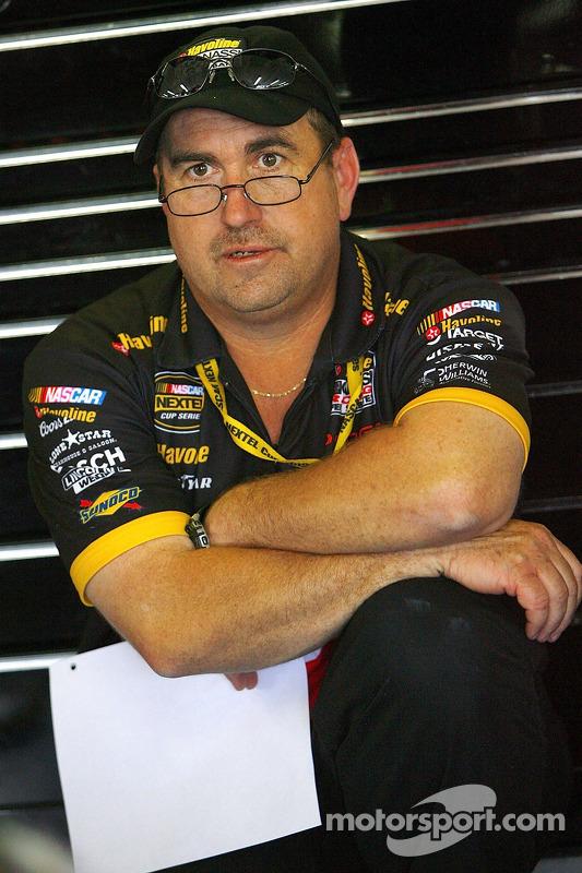Donnie Wingo, le chef d'équipe de Casey Mears