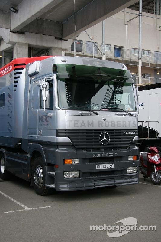 Le camion du Team Roberts