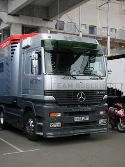 Team Roberts Truck